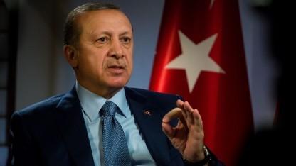 Staatspräsident Recep Tayyip Erdogan: Regierung verschärft Zensur.