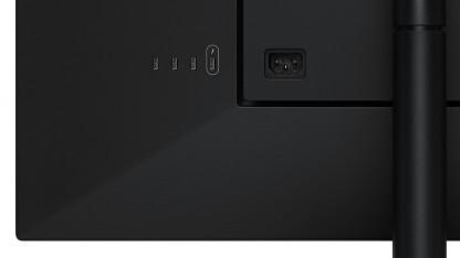 Die Ultrafine-Monitore können nur per USB Typ C angeschlossen werden.