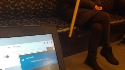 Die Suche nach dem preisgekrönten Telekom-Netz in der Berliner U-Bahn
