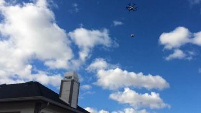 Liefer-Hexacopter: warme Speisen und kalte Getränke