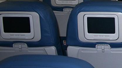In-Flight-Entertainment-Systeme (Symbolbild).