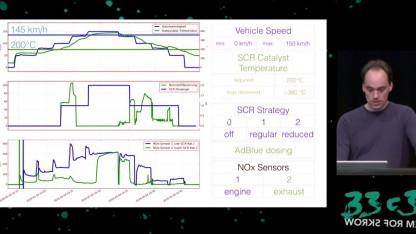 Der Hacker Felix Domke analysierte die Steuerung eines Dieselmotors von Opel.