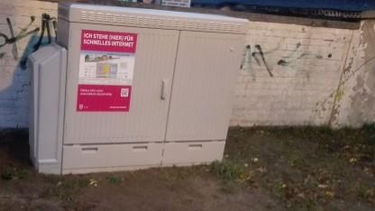 Netzausbau in Großbeeren bei Berlin
