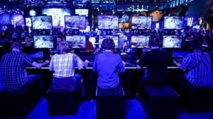 Computerspieler auf der Gamescom 2015