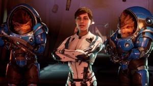 Die Heldin von Mass Effect Andromeda mit Problemen in einer fremden Galaxie