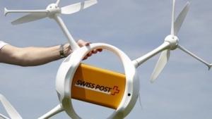 Drohne der Schweizer Post