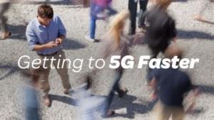 AT&T-Werbebild zu 5G