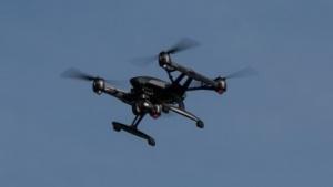 Quadrocopter (Symbolbild): Restbeschleunigung von einem Tausendstel der Erdbeschleunigung