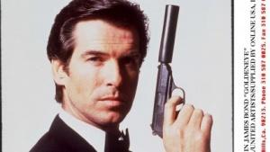 Pierce Brosnan als James Bond in Golden Eye