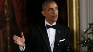 US-Präsident Barack Obama verhängt Sanktionen gegen Russland.