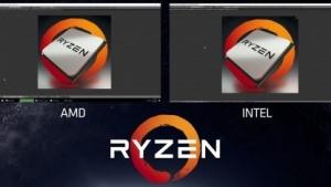 Ryzen einen Hauch flotter als ein Core i7-6900K