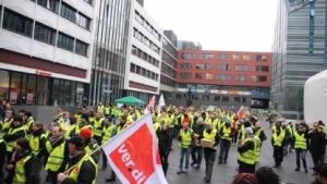 Amazon-Arbeiter im Streik