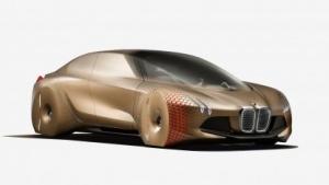 BMW-Konzept Vision Next 100: Das autonome Elektroauto kommt 2021 auf den Markt.