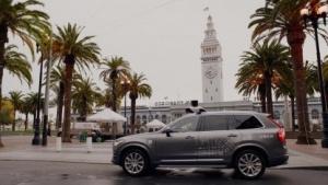 Selbstfahrender Uber-Volvo: Die Zulassung stimmte nicht.