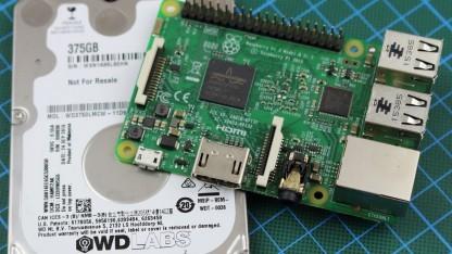 Pidrive mit Raspberry Pi