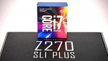 Core i7-7700K mit MSIs Z270 SLI Plus