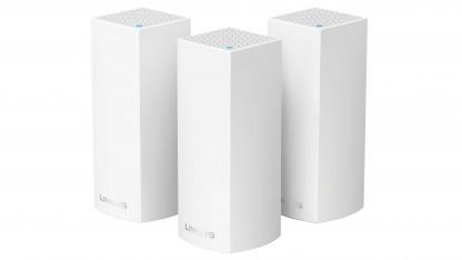 Auch Linksys bietet ein Mesh-System an.