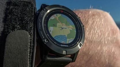 Garmin Fenix 5X mit Karte
