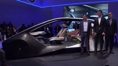 BMW präsentierte zur CES gemeinsam mit Intel und Mobileye die Innenraumstudie BMW i Inside Future.