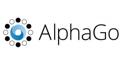 Das Logo von Alpha Go