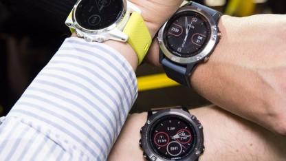 Die drei neuen Garmin-Modelle Fenix 5, 5S und 5X