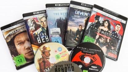 Nicht alle 4K-Discs lohnen sich.