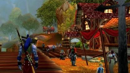 Frühe Version von World of Warcraft