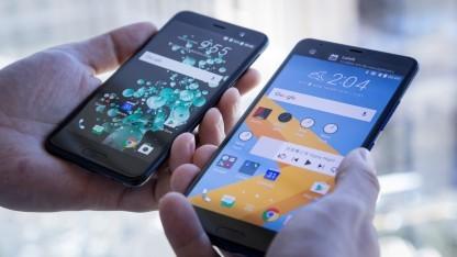 Das U Play und U Ultra von HTC bekommen den Sense Companion.