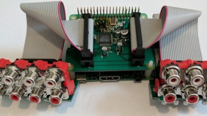Audio Injector Octo mit Cinch-Breakouts