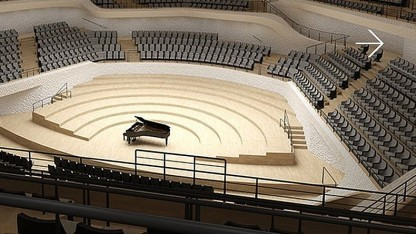 In der Elbphilharmonie