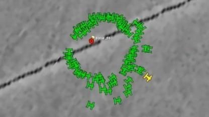 Drohnenschwarm: Abwurf bei hoher Geschwindigkeit aus dem Container für IR-Täuschkörper