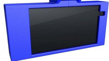 Selbstfahrmodul Neodriven: montiert an der Stelle des Rückspiegels