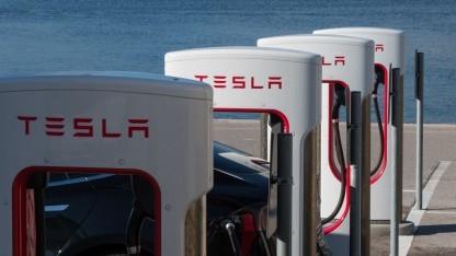 Supercharger von Tesla