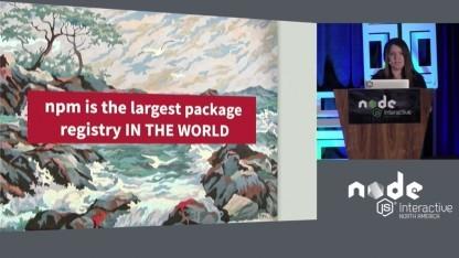 NPM ist die wohl größte zentrale Quelle für Softwarepakete einer Community.