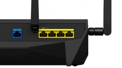 Synologys RT2600ac kann zwei WAN-Verbindungen aufbauen.