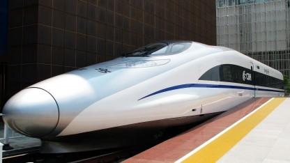Modell des CHR380A (auf der Shanghai World Expo 2010): Verlustgeschäft