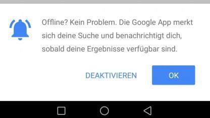 Die neue Funktion der Google-App für Android