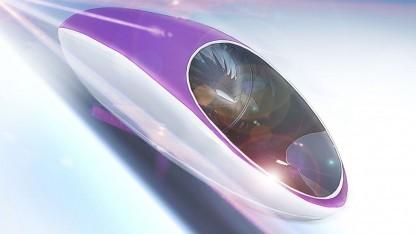 Hyperloop-Kapsel: in naher Zukunft Realität