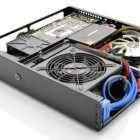 Dr Zaber Sentry: Mini-ITX-Gehäuse mit 7 Litern Volumen und für 30-cm-Karten