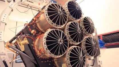 Weltraumteleskop Erosita: Kameras werden auf -90 Grad gekühlt.