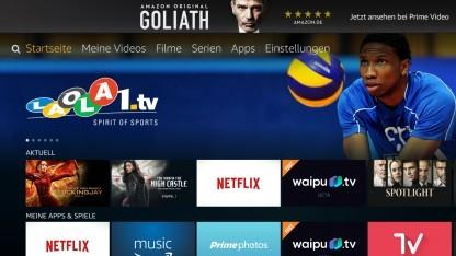 Die neue Oberfläche für Amazons Fire TV