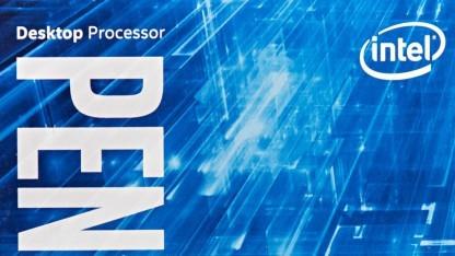 Verpackung eines Pentium-Chips