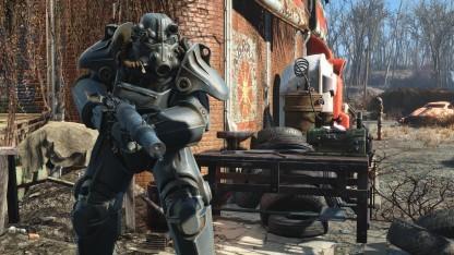 Die PC-Version von Fallout 4 mit dem neuen Highres-Texture-Pack
