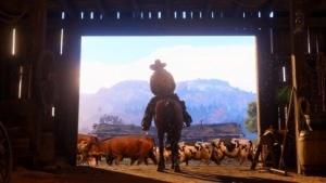 Ein Cowboy in Red Dead Redemption 2