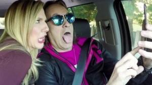 T-Mobile-Chef John Legere auf dem Weg zu seinem CES-Auftritt