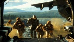 Spartan-Supersoldaten im Echtzeit-Strategiespiel Halo Wars 2