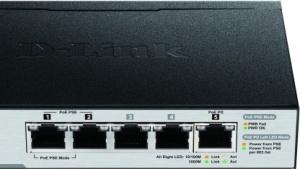 Der DGS 1100 besitzt lediglich fünf Ports.