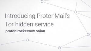 Protonmail ist ab sofort per Tor zu erreichen.