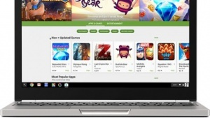 Der Play Store auf einem Chromebook