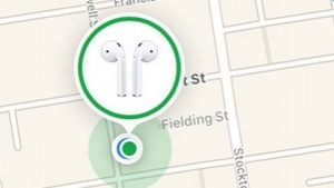 Airpods-Suchfunktion in iOS 10.3